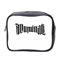 Illuminati Mini Toiletries Bag 2 Side by Valentinaart