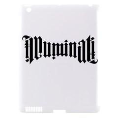 Illuminati Apple Ipad 3/4 Hardshell Case (compatible With Smart Cover) by Valentinaart