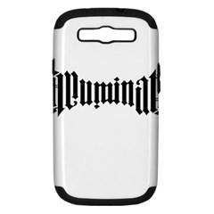 Illuminati Samsung Galaxy S Iii Hardshell Case (pc+silicone) by Valentinaart