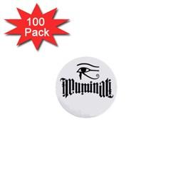 Illuminati 1  Mini Buttons (100 Pack)  by Valentinaart