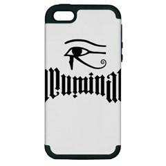 Illuminati Apple Iphone 5 Hardshell Case (pc+silicone) by Valentinaart