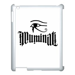 Illuminati Apple Ipad 3/4 Case (white) by Valentinaart