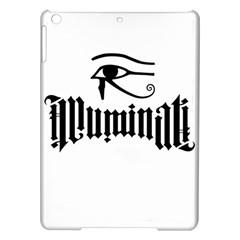 Illuminati Ipad Air Hardshell Cases by Valentinaart