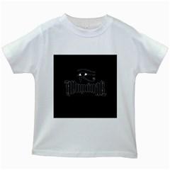 Illuminati Kids White T Shirts by Valentinaart