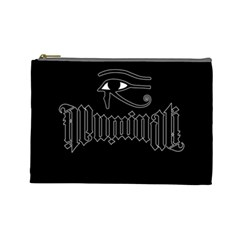 Illuminati Cosmetic Bag (large)  by Valentinaart