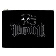 Illuminati Cosmetic Bag (xxl)  by Valentinaart