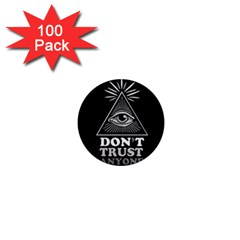 Illuminati 1  Mini Magnets (100 Pack)  by Valentinaart