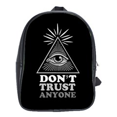 Illuminati School Bags(large)  by Valentinaart