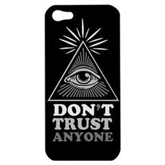 Illuminati Apple Iphone 5 Hardshell Case by Valentinaart