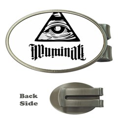 Illuminati Money Clips (oval)  by Valentinaart