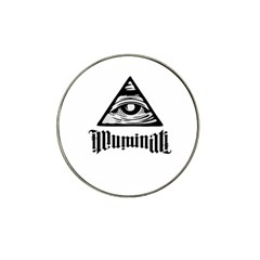 Illuminati Hat Clip Ball Marker (4 Pack) by Valentinaart