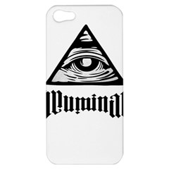 Illuminati Apple Iphone 5 Hardshell Case by Valentinaart