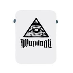 Illuminati Apple Ipad 2/3/4 Protective Soft Cases by Valentinaart