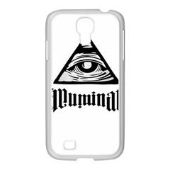Illuminati Samsung Galaxy S4 I9500/ I9505 Case (white) by Valentinaart