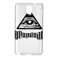 Illuminati Samsung Galaxy Note 3 N9005 Hardshell Case by Valentinaart