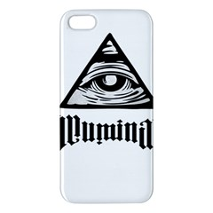 Illuminati Iphone 5s/ Se Premium Hardshell Case by Valentinaart