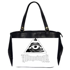Illuminati Office Handbags (2 Sides)  by Valentinaart