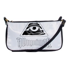 Illuminati Shoulder Clutch Bags by Valentinaart