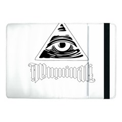 Illuminati Samsung Galaxy Tab Pro 10 1  Flip Case by Valentinaart