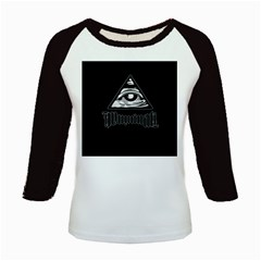 Illuminati Kids Baseball Jerseys by Valentinaart