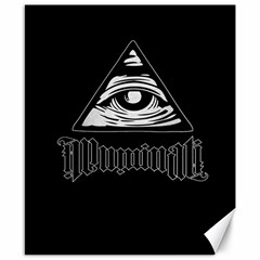 Illuminati Canvas 8  X 10  by Valentinaart