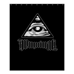 Illuminati Shower Curtain 60  X 72  (medium)  by Valentinaart