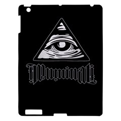 Illuminati Apple Ipad 3/4 Hardshell Case by Valentinaart