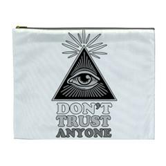 Illuminati Cosmetic Bag (xl) by Valentinaart