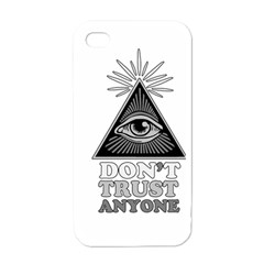 Illuminati Apple Iphone 4 Case (white) by Valentinaart