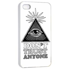 Illuminati Apple Iphone 4/4s Seamless Case (white) by Valentinaart