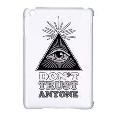 Illuminati Apple Ipad Mini Hardshell Case (compatible With Smart Cover) by Valentinaart