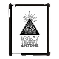 Illuminati Apple Ipad 3/4 Case (black) by Valentinaart