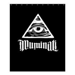 Illuminati Shower Curtain 60  X 72  (medium)  by Valentinaart