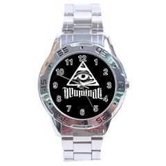 Illuminati Stainless Steel Analogue Watch by Valentinaart