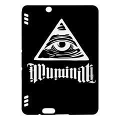 Illuminati Kindle Fire Hdx Hardshell Case by Valentinaart