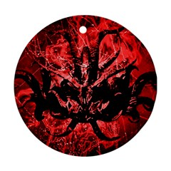 Scary Background Ornament (round) by dflcprints