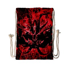 Scary Background Drawstring Bag (small) by dflcprints