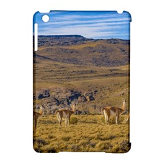 Group Of Vicunas At Patagonian Landscape, Argentina Apple Ipad Mini Hardshell Case (compatible With Smart Cover) by dflcprints