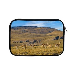 Group Of Vicunas At Patagonian Landscape, Argentina Apple Ipad Mini Zipper Cases by dflcprints