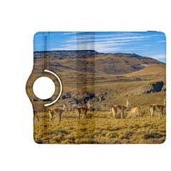 Group Of Vicunas At Patagonian Landscape, Argentina Kindle Fire Hdx 8 9  Flip 360 Case by dflcprints