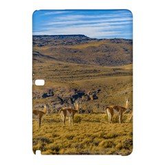 Group Of Vicunas At Patagonian Landscape, Argentina Samsung Galaxy Tab Pro 12 2 Hardshell Case by dflcprints