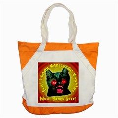 Ere! I Seen Menacuddle Monster Accent Tote Bag by RakeClag