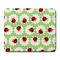 Ladybugs Pattern Large Mousepads by linceazul