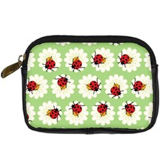 Ladybugs Pattern Digital Camera Cases by linceazul