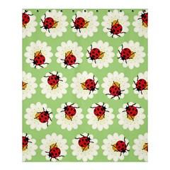 Ladybugs Pattern Shower Curtain 60  X 72  (medium)  by linceazul