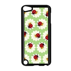 Ladybugs Pattern Apple Ipod Touch 5 Case (black) by linceazul
