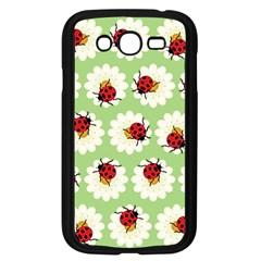 Ladybugs Pattern Samsung Galaxy Grand Duos I9082 Case (black) by linceazul