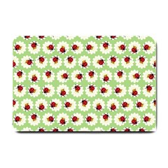 Ladybugs Pattern Small Doormat  by linceazul