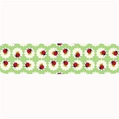 Ladybugs Pattern Large Bar Mats by linceazul