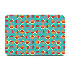 Semicircles And Arcs Pattern Plate Mats by linceazul